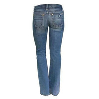 Joes 59Fz5805 Low Rise Boot Cut Womens Jeans Fit Medium Wash Size 24
