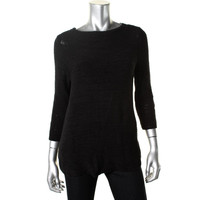 Style & Co. Womens Knit Boatneck Pullover Sweater