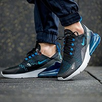Nike Air Max 270 Rear Half-Cushion Casual Sports Running Shoes