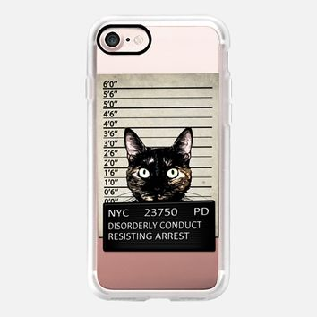 Kitty Mugshot - Transparent iPhone 7 Case by Nicklas Gustafsson | Casetify