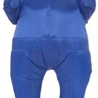 Rubie's Costume Inflatable Full Body Suit Costume, Blue, One Size