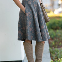 Dusty Rose Party Skirt