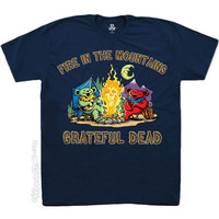 Grateful Dead - Fire in the Mountain T Shirt on Sale for $18.99 at HippieShop.com
