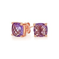 Bling Jewelry Modern Square Studs