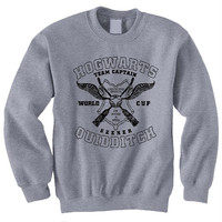 Hogwarts Quidditch Team Harry Potter Book Movie Titles Inspired Sweatshirt T-shirt