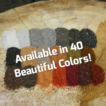 Unity Colored Sand for Wedding Sand Ceremony or Floral Sand