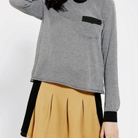 Coincidence & Chance Collared Long-Sleeve Top