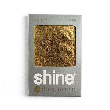 Shine 24k Gold Papers ­(2­-Sheet Pack)