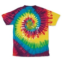 Men's Rainbow Always & Forever Tie Dye Tee