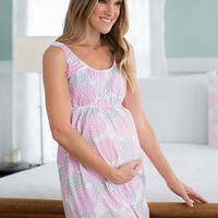 Lilly Maternity & Nursing Sleeveless Nightgown
