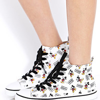 Standout Mickey High-Tops