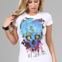 JbonClothingCo. Water SkullLADIES : Karmaloop.com - Global Concrete Culture