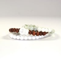 White Buddha and Beads DY-53 | Disruptive Youth