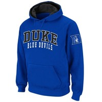 Duke Blue Devils Double Arches Pullover Hoodie - Duke Blue
