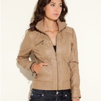 GUESS Fiji Faux-Leather Jacket