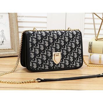 Dior fashion is full of flip-cover shoulder bags hot selling women's casual shopping bags #1