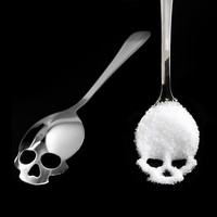Sugar Skull Spoon