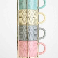 Cappuccino Gem Mug Set- Multi One