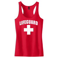 Lifeguard Women's Racerback Tank Top