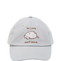 Pusheen So Lazy Dad Cap