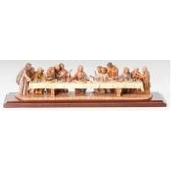"""5.25"""" Last Supper Fig Life Of"""