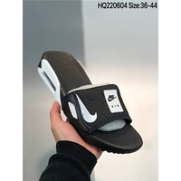 New Nike Air Max 90 Slide cheap Men's and women's Nike Slippers Beach shoes