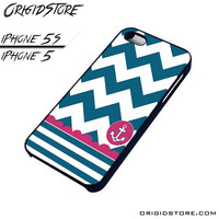 Chevron Anchor Sailor Case For Iphone 5/5S Case