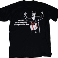 SNL Saturday Night Live Gift Dick in a Box Special for You Black T-shirt - Saturday Night Live - | TV Store Online