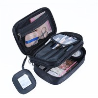Lady Organizer Makeup Bag Travel Organizer Cosmetic Bag for Women Large Necessaries Make Up Case Wash Toiletry Bag