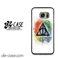 The Sign of the Deathly Hallows Harry Potter DEAL-11010 Samsung Phonecase Cover For Samsung Galaxy S7 / S7 Edge
