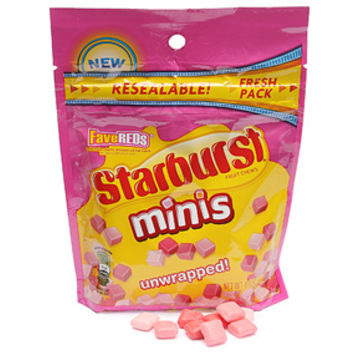 Starburst Minis Candy Chews - FaveReds: 8-Ounce Bag