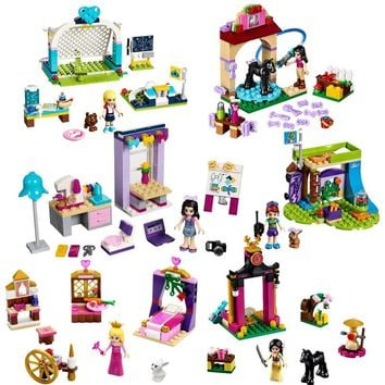 Legoing Friends Girls Series The Mia's Bedroom Foal Stables Studio Building Block Toy For Children Compatible Legoing Friend