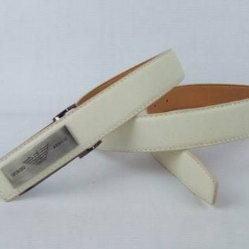 Cheap Armani Genuine Leather belts woman's and men's Business Waistband Belt Luxury Casual fashion Belt sale-843368361