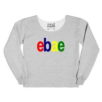Ebae | Online Boyefriend Or Girlfriend-Female Heather Grey T-Shirt