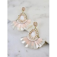 Baldwin Earrings - Ivory