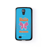 Sassy - Hello Gorgeous #10433 Black Hard Plastic Case for Samsung Galaxy S4 by Sassy Slang