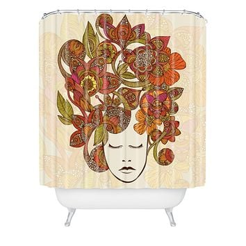 Valentina Ramos Its All In Your Head Shower Curtain
