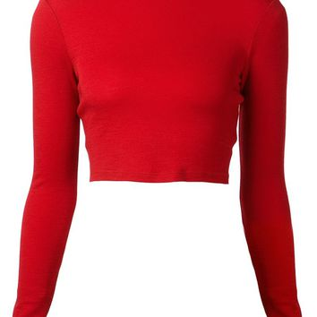 Alice+Olivia cropped top