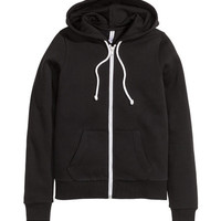 Hooded Sweatshirt Jacket - from H&M