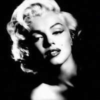 Spirit Up Art Marilyn Monroe Poster Print on Canvas, Framed wall art, Ready to hang, 8 by 10 inch #ML-10