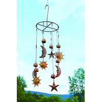 Sun, Moon, and Stars Mobile - Happy Gardens