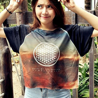 Bring Me The Horizon T-Shirt Crop Shirt For Women Free Size