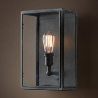 Union Filament Wide Sconce Clear Glass