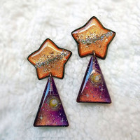GALAXY STAR EARRING