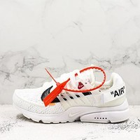 Off White X Nike Air Presto White Running Shoes - Best Deal Online