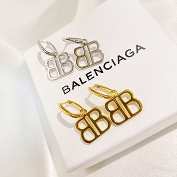 Balenciaga Woman Fashion Accessories Fine Jewelry Ring & Chain Necklace & Earrings Newest Popular Women Delicate 062934