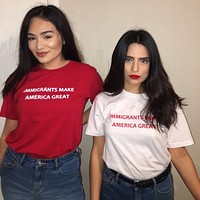 Immigrants Make America Great Tee