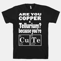 Are You Copper and Tellurium?   HUMAN