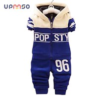 2018 Spring Autumn Kids Children Baby Boy Set Sport Suits Clothing Set Tracksuit Toddler Boy Clothes Cotton Outfits For Boys