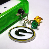 Green Bay Packer Cell Phone Dust Plug